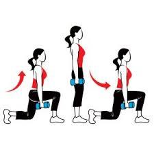 Walking Lunge Stock Pic