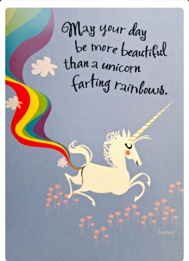 Motiv - Unicorn Fart Rainbows